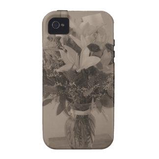 caso universal del ambiente del iPhone 4/4S - ramo Case-Mate iPhone 4 Carcasa