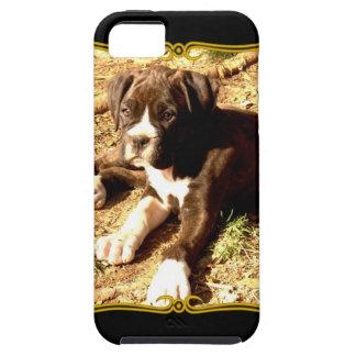 Caso universal del ambiente del iPhone 5 del perro iPhone 5 Carcasas