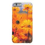 Caso universal del caso floral del iPhone 6 Funda De iPhone 6 Barely There