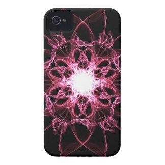 Caso universal del iPhone 4 de seda rosados de la  iPhone 4 Case-Mate Fundas