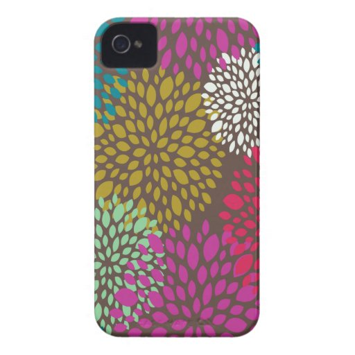 Caso universal floral retro brillante del iPhone 4 Case-Mate iPhone 4 Fundas