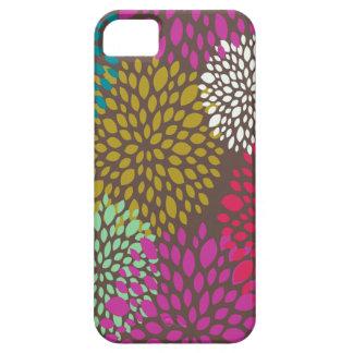Caso universal floral retro brillante del iPhone 5 iPhone 5 Coberturas
