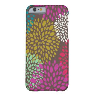 Caso universal floral retro brillante del iPhone 6 Funda De iPhone 6 Barely There