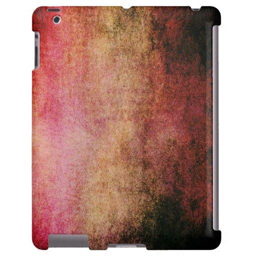 Caso urbano del iPad del Grunge del extracto retro
