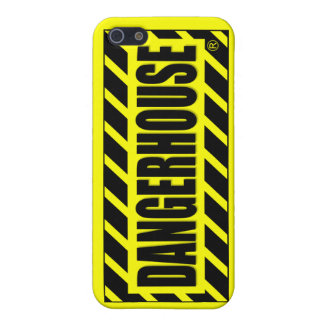 Caso v 2 del iPhone 4 de los expedientes de Danger iPhone 5 Protector