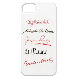 Caso v.2 del iPhone 5/5s de las firmas del iPhone 5 Carcasa