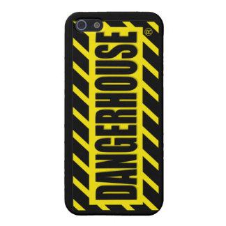 Caso v 3 del iPhone 4 de los expedientes de Danger iPhone 5 Cárcasas
