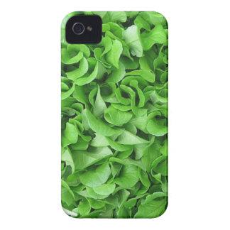 caso vegetariano del iPhone de la lechuga Case-Mate iPhone 4 Fundas