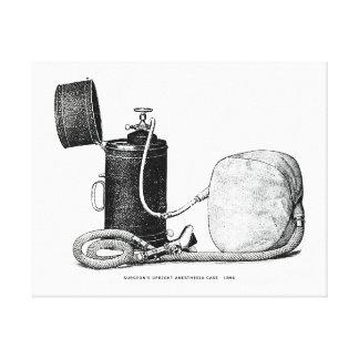 Caso vertical 1896 de la anestesia del cirujano impresiones en lona estiradas