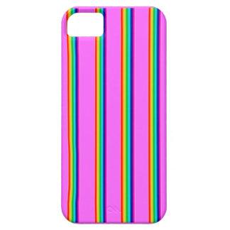 Caso vibrante del teléfono del color iPhone 5 carcasas