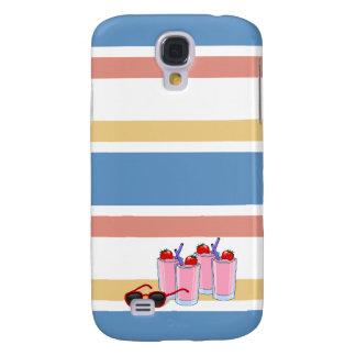 Caso vivo de encargo de HTC de la diversión del ve Funda Para Galaxy S4