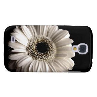 Caso vivo de HTC de la margarita blanca del Gerber Funda Para Galaxy S4