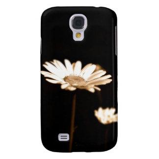 Caso vivo de HTC de las margaritas salvajes Funda Para Galaxy S4