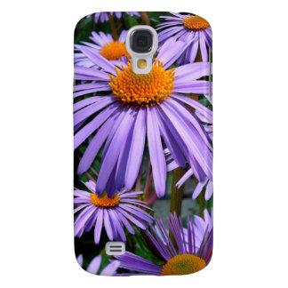 Caso vivo de HTC de los asteres púrpuras Funda Samsung S4