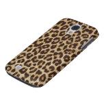 Caso vivo de HTC del estampado leopardo