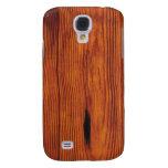 Caso vivo de HTC del grano de madera