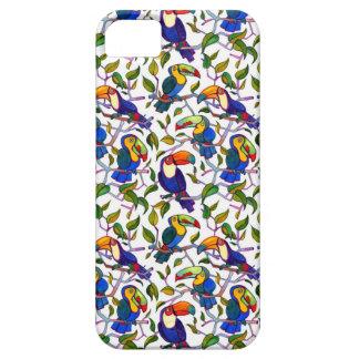 Caso vivo del iPhone 5/5S de Toucan de la selva Funda Para iPhone SE/5/5s