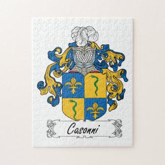 Casonni Family Crest Puzzles