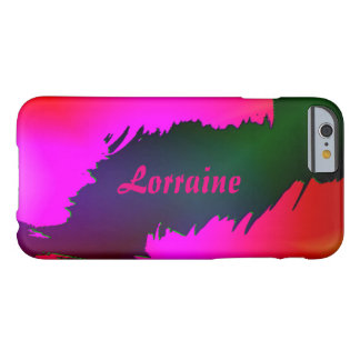 Casos a todo color del iPhone del estilo de Lorena Funda Para iPhone 6 Barely There