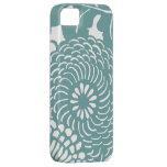 Casos abstractos del estampado de flores iPhone5 iPhone 5 Case-Mate Protector