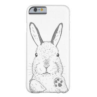 Casos adaptables del iPhone del conejo Funda Barely There iPhone 6