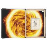 Casos calientes estallados del iPad del orbe del f