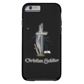 Casos cristianos del soldado funda de iPhone 6 tough