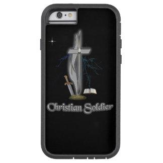 Casos cristianos del soldado funda de iPhone 6 tough xtreme