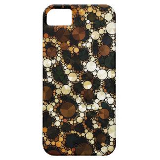 Casos de Bling Iphone5/5s del guepardo Funda Para iPhone 5 Barely There