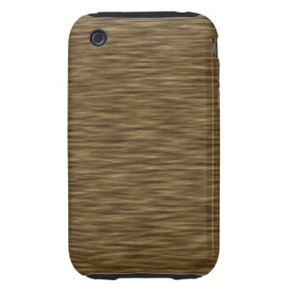 Casos de encargo de madera naturales del iPhone 3G iPhone 3 Tough Funda