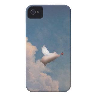 casos de encargo del iPhone 4 4S del cerdo del vue iPhone 4 Cárcasas