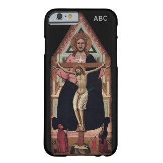 """Casos de encargo del monograma """"de la trinidad"""" funda de iPhone 6 barely there"""