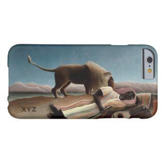 Casos de encargo gitanos el dormir de Rousseau Funda Para iPhone 6 Barely There
