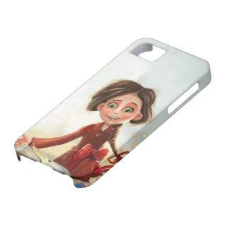 casos de encargo iPhone5 del dibujo animado lindo iPhone 5 Case-Mate Fundas