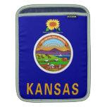 Casos de Ipad de la bandera del estado de Kansas Mangas De iPad