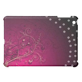 Casos de Ipad, rosa, grunge, floral