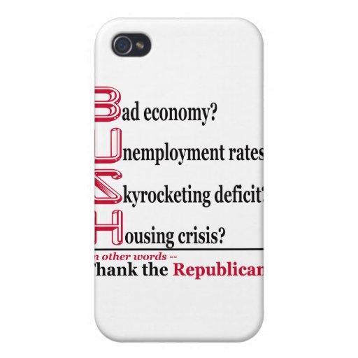 Casos de Iphone de la economía iPhone 4 Funda