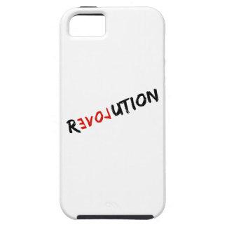 casos de Iphone del amor de la revolución iPhone 5 Case-Mate Funda