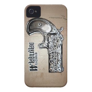 Casos de la célula del Derringer Carcasa Para iPhone 4 De Case-Mate