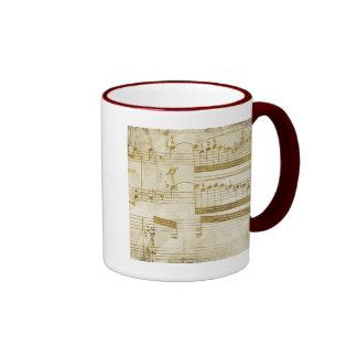 casos de la nota de la hendidura de los amantes de taza de café