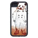 Casos de la panda Iphone5 del espacio iPhone 5 Case-Mate Fundas