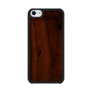 Casos de madera bálticos del iPhone 5C de Carved® Funda De iPhone 5C Slim Nogal