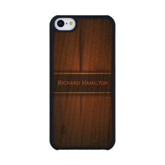 Casos de madera bálticos del iPhone 5C de Carved® Funda De iPhone 5C Slim Cerezo