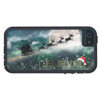 Casos de medianoche del iPhone 5/5S del navidad iPhone 5 Funda