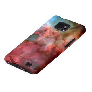 Casos de Samsung del espacio exterior de las Samsung Galaxy SII Carcasa