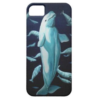 Casos de Smartphone de la ballena del caso de la b iPhone 5 Case-Mate Fundas
