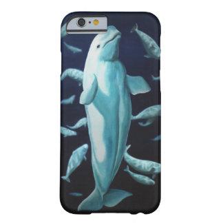 Casos de Smartphone de la ballena del caso de la Funda De iPhone 6 Barely There