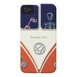 Casos de Van iPhone del zombi iPhone 4 Case-Mate Carcasas