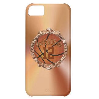 casos del baloncesto del iPhone 5 5S para las muje