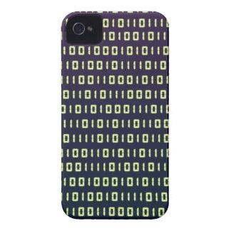 Casos del código binario iPhone4 4S iPhone 4 Case-Mate Cárcasas